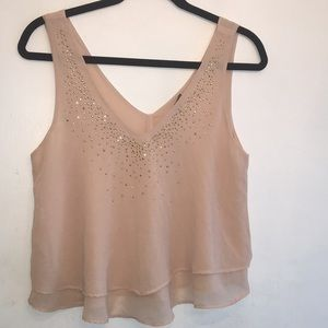 2 for $20 Charlotte Russe Pink Sleeveless Crop Top